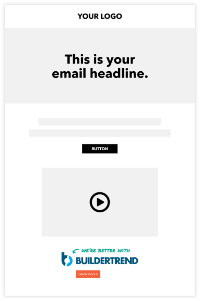 email layout example